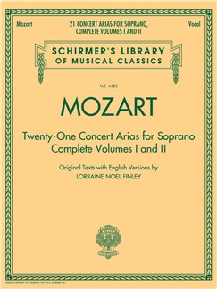 W.A. Mozart: 21 Concert Arias For Soprano - Complete Volumes 1 And 2 Books | Soprano