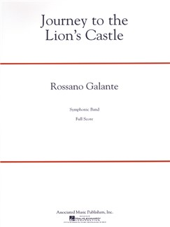 Rossano Galante: Journey To The Lion's Castle Books | Big Band & Concert Band