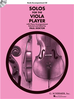 Solos For The Viola Player - Book/CD Books and CDs | Viola, Piano Accompaniment
