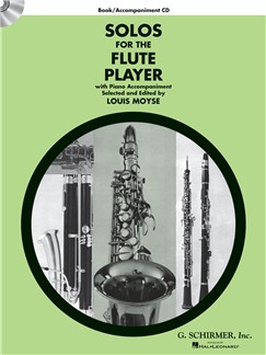 Solos For The Flute Player - Book/CD Books and CDs | Flute, Piano Accompaniment