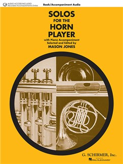 Solos For The Horn Player (Book/Online Audio) Books and Digital Audio | French Horn, Piano Accompaniment
