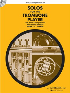 Solos For The Trombone Player - Book/CD Books and CDs | Trombone, Piano Accompaniment