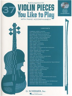 37 Violin Pieces You Like to Play Books and CDs | Violin, Piano Accompaniment
