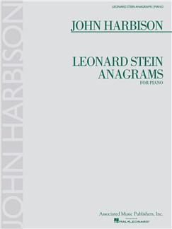 John Harbison: Leonard Stein Anagrams Books | Piano
