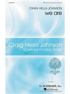 Craig Hella Johnson: We Are Books | Choral, TTBB