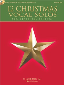12 Christmas Vocal Solos - High Voice Books and CDs | High Voice, Piano Accompaniment