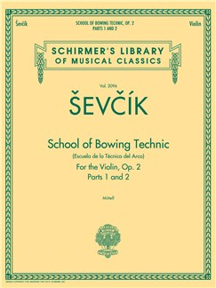 Otakar Sevcik: School Of Bowing Technic Op.2 - Parts 1 And 2 Books | Violin