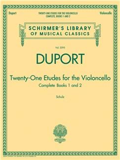 Jean-Louis Duport: 21 Etudes For The Violoncello - Complete Books 1 And 2 Books | Cello