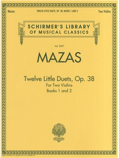 Jacques F. Mazas: Twelve Little Duets For Two Violins Op.38 (Books 1 & 2) Books | Violin (Duet)