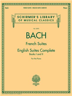 J.S. Bach: French Suites / English Suites Complete Books | Piano