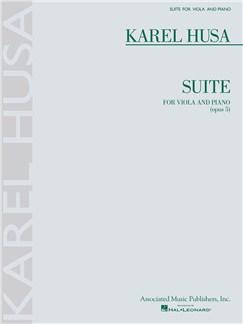 Karel Husa: Suite For Viola And Piano Op.5 Books | Viola, Piano Accompaniment