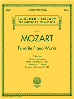 Mozart: Favorite Piano Works Books | Piano