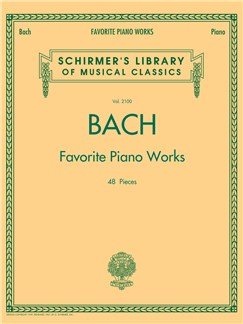 Bach Favorite Piano Works Books | Keyboard