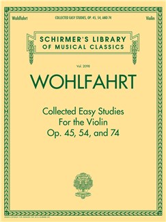 Franz Wohlfahrt: Collected Easy Studies For The Violin Books | Violin