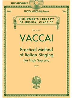 Practical Method of Italian Singing: For High Soprano Books and CDs | Soprano