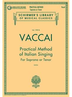 Practical Method Of Italian Singing: For Soprano Or Tenor (Book/Online Audio) Books and Digital Audio | Soprano, Tenor, Voice