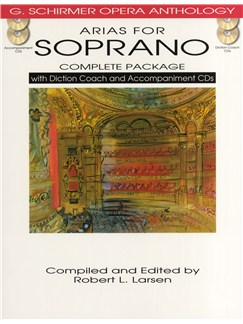 Arias For Soprano - Complete Package Books and CDs | Soprano, Piano Accompaniment