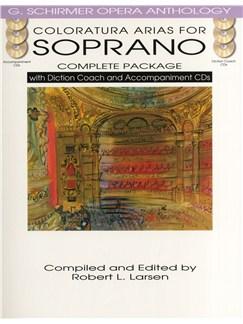 Coloratura Arias For Soprano - Complete Package Books and CDs | Soprano, Piano Accompaniment