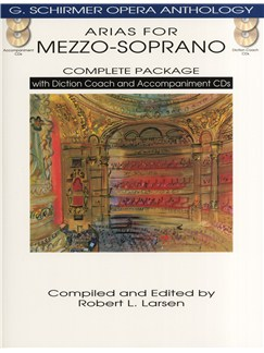 Arias For Mezzo-Soprano - Complete Package Books and CDs | Mezzo-Soprano, Piano Accompaniment