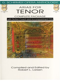 Arias For Tenor - Complete Package Books and CDs | Tenor, Piano Accompaniment