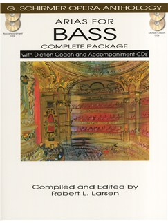 Arias For Bass - Complete Package Books and CDs | Bass Voice