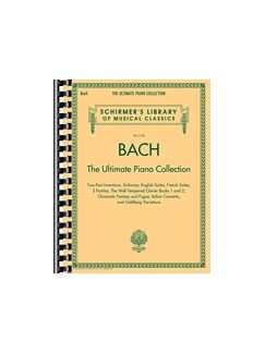 Schirmer's Library Of Musical Classics Volume 2102: Bach - The Ultimate Piano Collection Livre | Piano