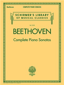 Schirmer's Library Of Musical Classics Vol. 2103: Ludwig Van Beethoven - Complete Piano Sonatas Books | Piano