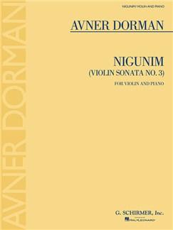 Avner Dorman: Nigunim (Violin Sonata No. 3) Books   Violin, Piano Accompaniment