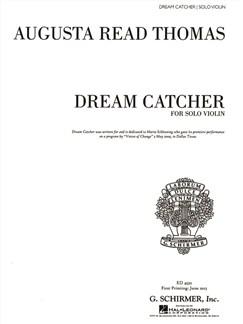 Augusta Read Thomas: Dream Catcher Books | Violin