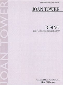 Joan Tower: Rising Books | Flute, String Quartet