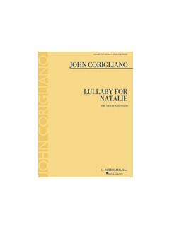 John Corigliano: Lullaby For Natalie - Solo Violin And Piano Books | Violin, Piano Accompaniment