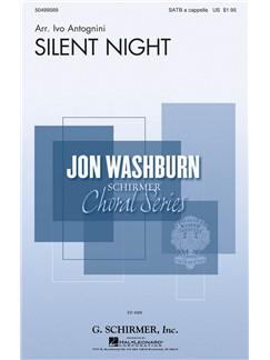 Ivo Antognini: Silent Night Books | Choral, SATB