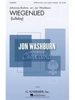 Johannes Brahms: Wiegenlied (Arr. Jon Washburn) Books | Choral, SATB