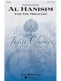Paul Schoenfeld: Al Hanisim Books | Choral, SATB