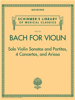 Bach For Violin – Sonatas And Partitas, 4 Concertos, And Arioso Libro | Violín