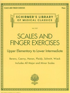 Scales And Finger Exercises – Upper Elementary To Lower Intermediate Piano Books | Piano