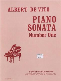 Albert De Vito: Piano Sonata Number One Books | Piano