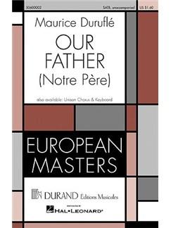 Maurice Duruflé: Our Father (arr. Baker) (SATB) Books | SATB
