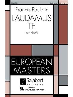 "Francis Poulenc: ""Laudamus Te"" From Gloria Books | SATB"