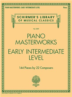 Schirmer's Library Of Musical Classics Volume 2109: Piano Masterworks – Early Intermediate Level Books | Piano