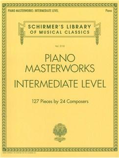 Schirmer's Library Of Musical Classics Volume 2110: Piano Masterworks - Intermediate Level Books | Piano