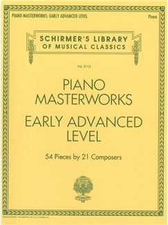 Schirmer's Library Of Musical Classics Volume 2112: Piano Masterworks - Early Advanced Level Books | Piano