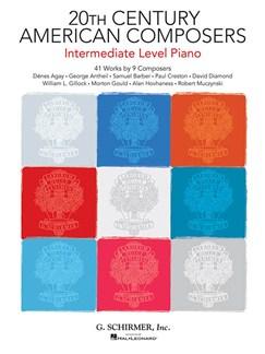 20th Century American Composers – Intermediate Level Piano Books | Piano