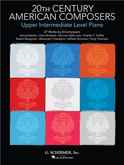 20th Century American Composers: Upper Intermediate Level Piano Books | Piano