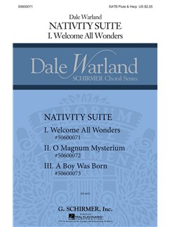 Dale Warland: Welcome All Wonders Books | Flute, Harp, SATB
