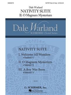 Dale Warland: O Magnum Mysterium Books | Flute, Harp, SATB