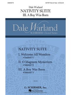 Dale Warland: A Boy Was Born Books | Flute, Harp, SATB