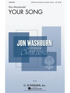 Don Macdonald: Your Song Books | SATB