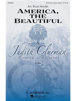 Arr. Ryan Nowlin: America, The Beautiful Books | SATB