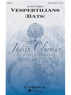 Jocelyn Hagen: Vespertilians (Bats) Books | SATB